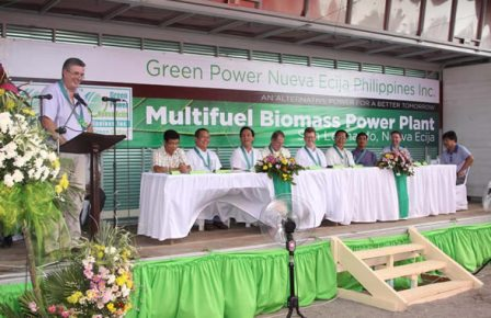 GPNEPI Groundbreaking Ceremony - Barangay Tabuating, Municipality of San Leonardo, Province of Nueva Ecija, Luzon region, Philippines.